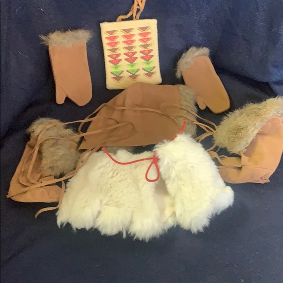 American Girl Kaya's Winter Accessories Corn Bag